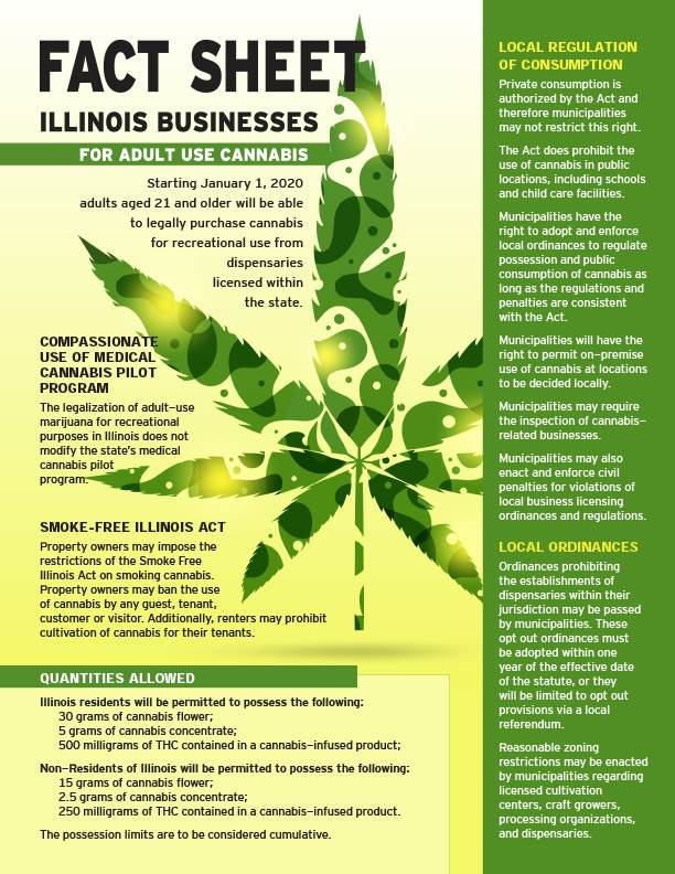 recreational weed illinois 2020